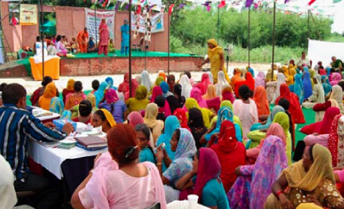 Empowering Women through Self-Help Groups