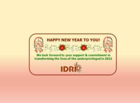 Approach the New Year 2021 with a resolve to provide a life of dignity to the poor and needy!