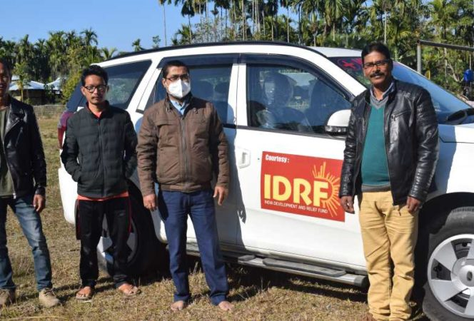 We began the New Year 2021 by providing a Multi Utility Vehicle to partner-NGO.
