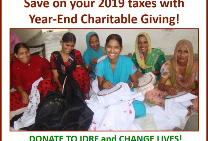 Your compassion and commitment to help the underprivileged  people can also save on your taxes.