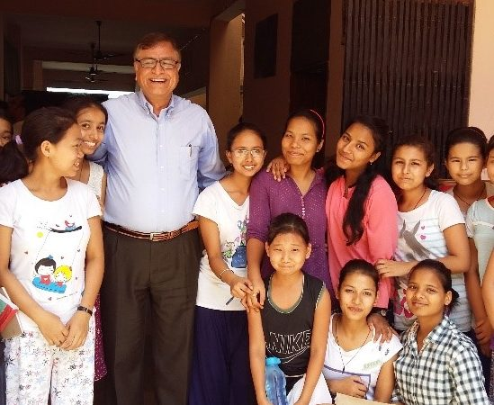 Donors' visit to IDRF project in India. Also featuring Hostel Diary